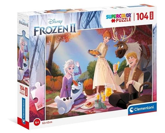 Puzzle 104 Maxi Super Kolor Frozen 2 (GXP-769037)