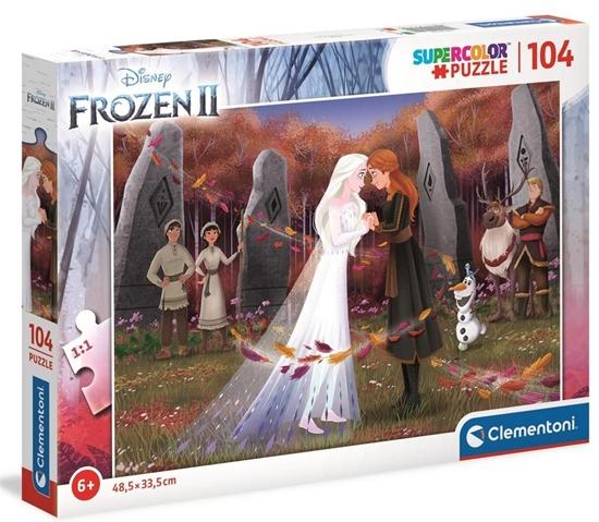 Puzzle 104 Super Kolor Frozen 2