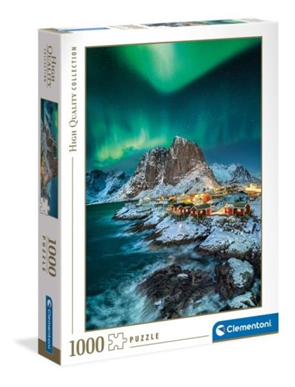 Clementoni Puzzle 1000el Zorza polarna nad Lofoten Islands 39601 (39601 CLEMENTONI)