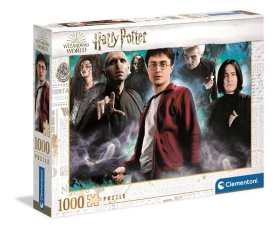 Clementoni Puzzle 1000el Harry Potter 39586 (39586 CLEMENTONI)