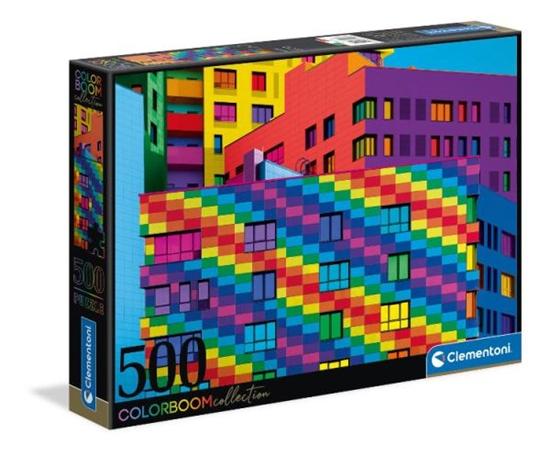 Clementoni Puzzle 500el color boom Squares 35094 p6 (35094 CLEMENTONI)