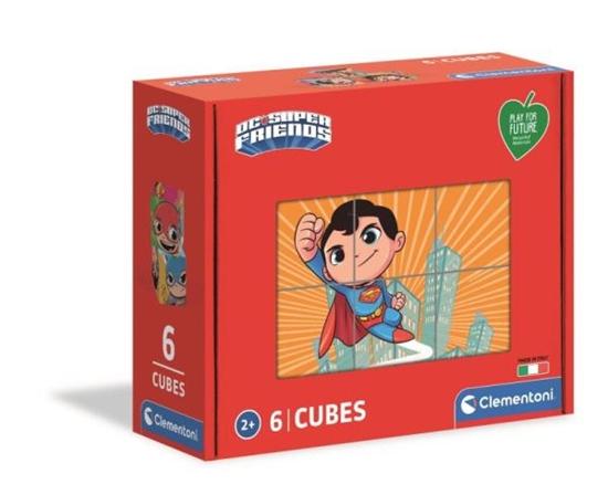 Clementoni Klocki obrazkowe 6el Play for future Super przyjaciele 44008 (44008 CLEMENTONI)