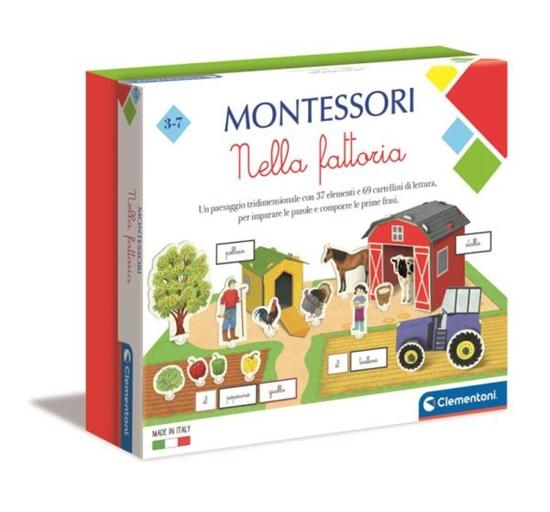 Clementoni Montessori Na farmie 50693 p6 (50693 CLEMENTONI)