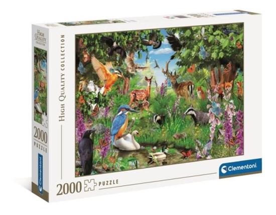 Clementoni Puzzle 2000el Fantastyczny las 32566 (32566 CLEMENTONI)
