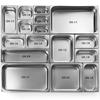 Pojemnik gastronomiczny do pieców GN 1/2 wys. 65 mm - Hendi 816080