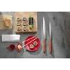 Nóż do sushi YANAGIBA ze stali nierdzewnej dł. 300 mm Titan East - Hendi 841433