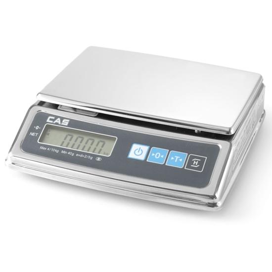 Waga kuchenna handlowa z legalizacją do 2 kg 0.5/1 g CAS - Hendi 580271