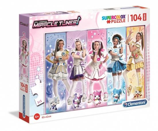Puzzle 104 elementy Maxi Super Kolor Miracle Tunes (GXP-726294)
