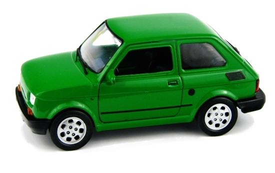 WELLY 1:27 FIAT 126P - zielony