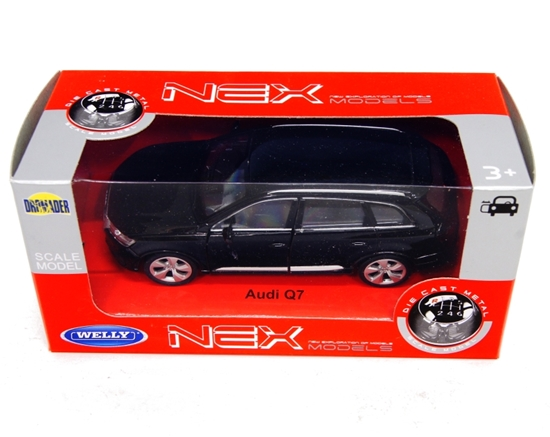 WELLY 1:34 Audi Q7 - czarny