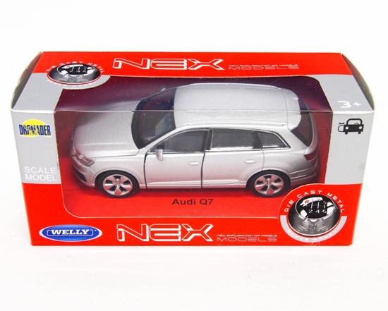 WELLY 1:34 Audi Q7 - srebrny