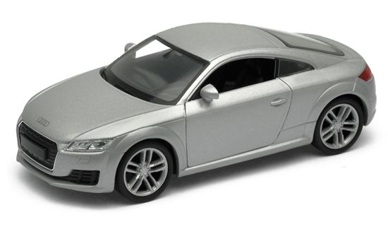 WELLY 1:34 Audi TT Coupe 2014 - srebrny