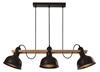 Lampa wisząca regulowana czarna 3x40W E27 loft Reno 33-79060