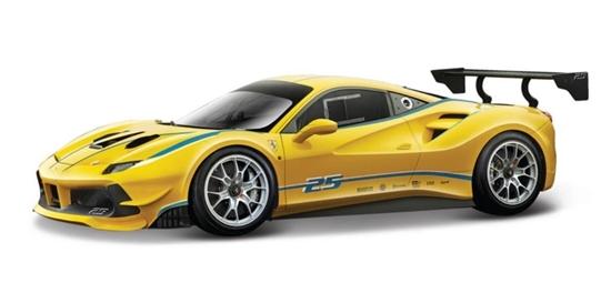 Bburago 1:24 Ferrari 488 Challenge -żółty