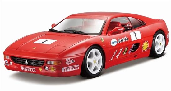 Bburago 1:24 Ferrari F355 Challenge -czerwony