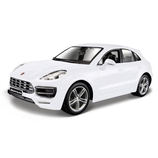 Bburago 1:24 Porsche Macan - biały