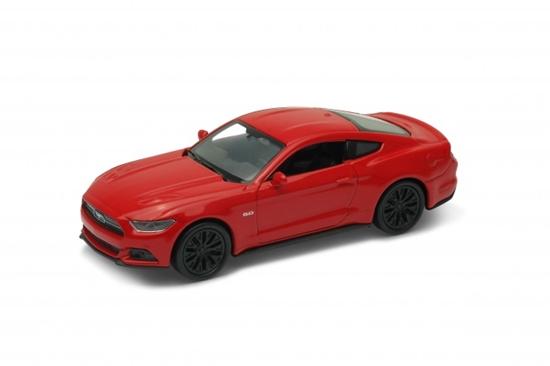 WELLY 1:34 Ford Mustang GT 2015 - czerwony