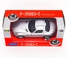 WELLY 1:34 Mercedes-Benz SLS AMG srebrny