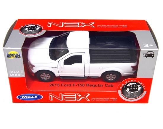 WELLY 1:34 Ford F-150 Regular Cab 2015 - biały