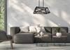 Lampa wisząca czarna metalowa 2x40W E27 Origami 32-78711