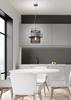 Lampa wisząca czarna/srebrna metalowy koszyk 40W E27 Fiba 31-78506