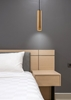 Lampa wisząca drewniana oprawa 25W GU10 25cm Tubo 31-78582