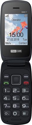 TELEFON KOMÓRKOWY MAXCOM MM817 COMFORT dla SENIORA Czarny