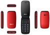 TELEFON KOMÓRKOWY MAXCOM MM817 COMFORT dla SENIORA Czerwony