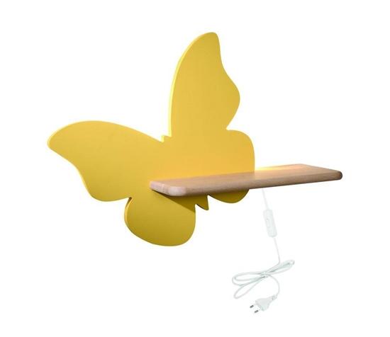 Lampa kinkiet półeczka 5W LED 4000K IQ Kids Butterfly złoty 21-85153