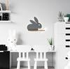 Lampa kinkiet półeczka 5W LED 4000K IQ Kids Rabbit szary 21-85184