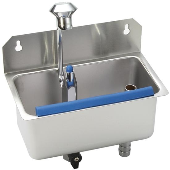 Płuczka myjka do gałkownic z systemem myjącym do montażu do ściany blatu Profi Line 220 x 120 x 90 mm - Hendi 755174