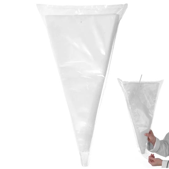 Worki rękawy cukiernicze jednorazowe do szprycowania ozdabiania HACCP 535 x 300 mm 100 szt. - Hendi 557129