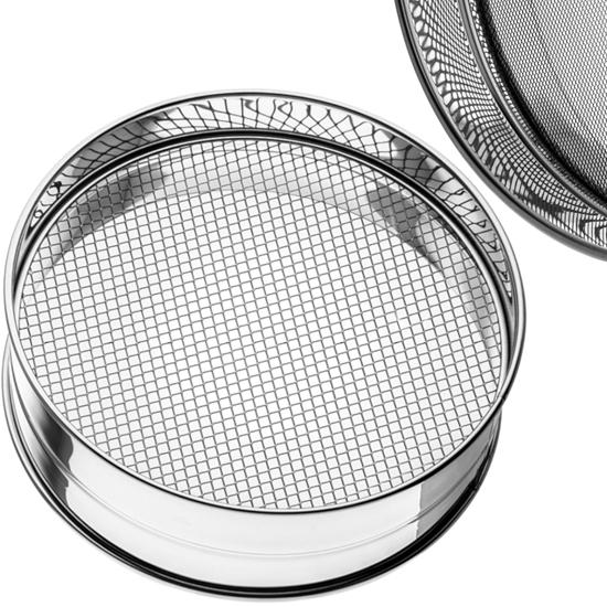 Sito do przesiewania mąki na ciasto 2.2 x 2.2 mm śr. 350 mm - Hendi 637166