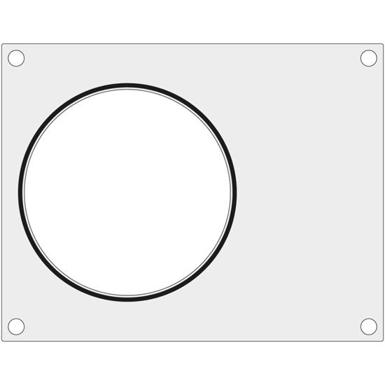 Matryca forma do zgrzewarek BOKAMA na pojemnik na zupę śr. 165 mm - Hendi 805909