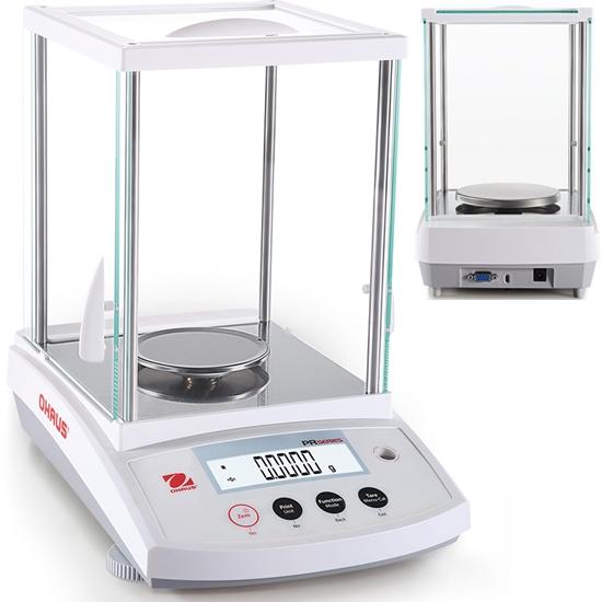 Waga laboratoryjna analityczna z legalizacją M profesjonalna LCD PR 220g / 0.1mg - OHAUS PR224M