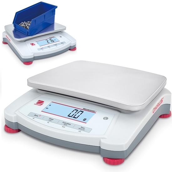 Waga laboratoryjna techniczna stołowa profesjonalna NAVIGATOR NVT 2200g / 0.1g - OHAUS NVT2201