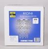 Lampa wisząca chromowy abażur 60W E27 Roni 31-84323