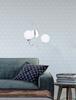 Kinkiet podwójny chromowy lampa ścienna 2x40W Agapant 22-03317