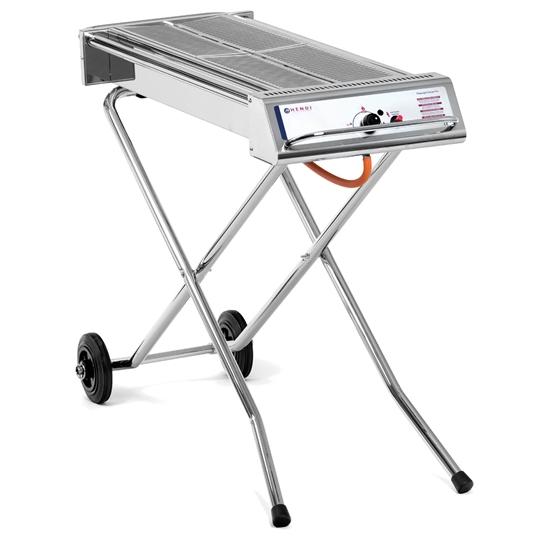 Profesjonalny grill gazowy XENON-PRO 2 ruszty 7500W - Hendi 148105