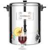 Warnik podgrzewacz do wody grzanego wina stalowy 2200W 30L - Hendi 209905