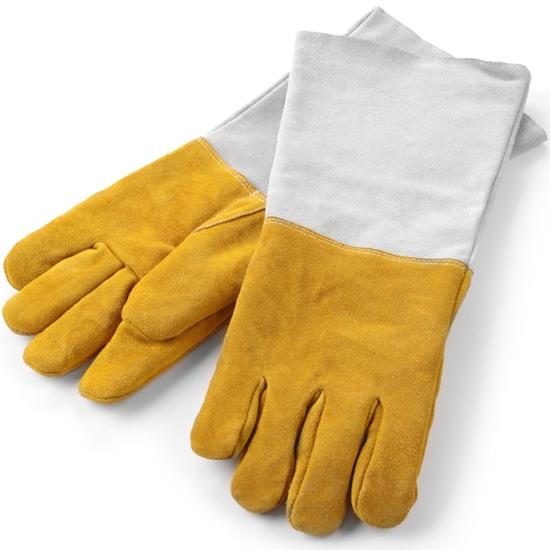 Rękawice kuchenne ochronne termiczne ze skóry - Hendi 556689