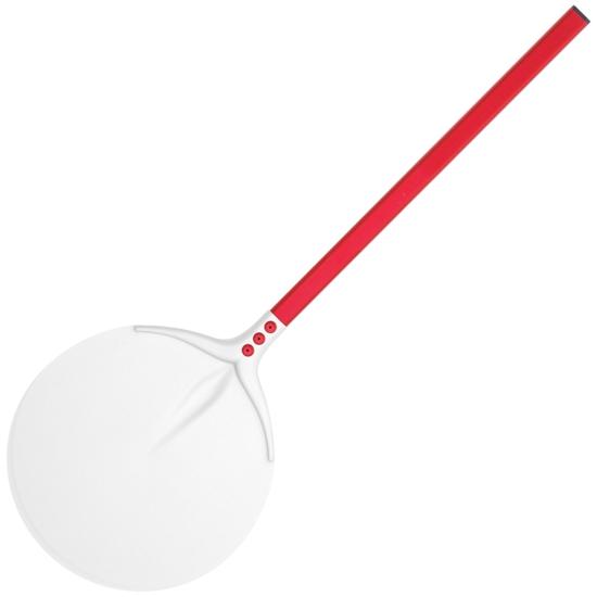 Łopata do pieca do pizzy okrągła aluminiowa 450 x 300 mm dł. 750 mm - Hendi 617311