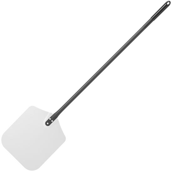 Łopata taca do wyciągania pizzy z pieca kwadratowa aluminiowa 305 x 1320 mm - Hendi 617113