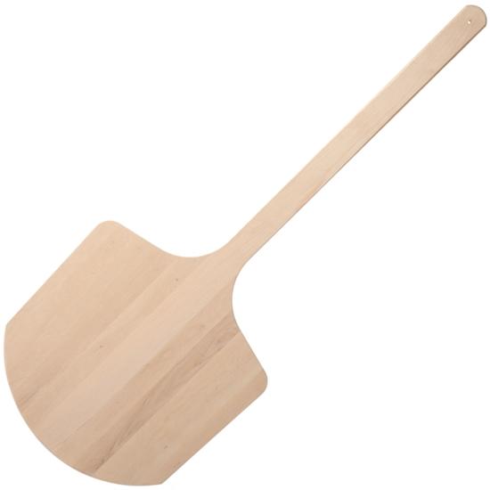 Łopata do wyciągania pizzy chleba z pieca drewniana szer. 350 mm dł. 1100 mm - Hendi 617236