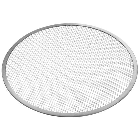 Siatka kratka do pizzy aluminiowa okrągła śr. 38 cm - Hendi 617458