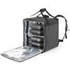 Plecak torba termiczna dostawcza do transportu 10 pizza-boxów wodoodporna 72 l - Hendi 709801