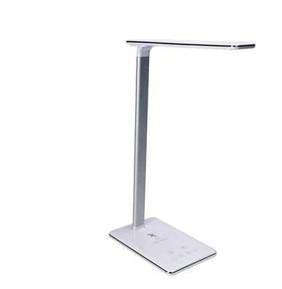 Lampka biurkowa LED ML4200 Clara 12W Ładowarka USB Biała