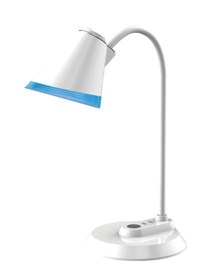 Lampka biurkowa LED Maxcom ML4500 Mico Biała
