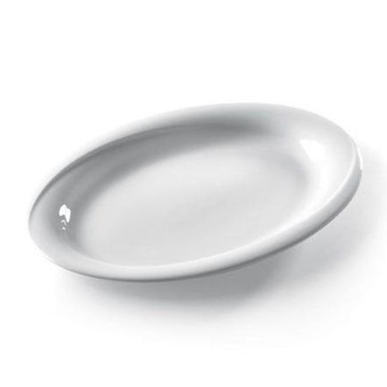 Półmisek stołowy owalny EXCLUSIV 290x230mm biała porcelana zestaw 6szt. - Hendi 309537