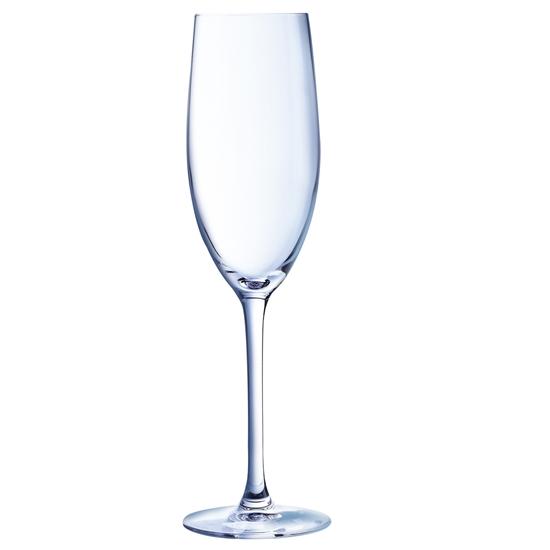 Kieliszki lampki do szampana wina musującego CABERNET 240ml 6 szt. Hendi D0796